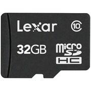 Micron High Capacity Lexar® microSDHC Card, 32GB (LSDMI32GABNLC10A)