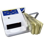 Royal Sovereign 150 Bills Hopper Capacity Electric Bill Counter With Counterfeit Detection, White (RBC-QUICKCOUNT)