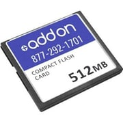 AddOn Compact Flash Card, 512MB (ASA5500-CF-512MB-AO)