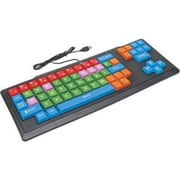 Ergoguys KB2 Califone Kids Oversized Keys Keyboard, Wired Via Ergoguys, USB