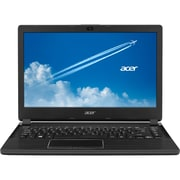 "Acer® TravelMate P4 TMP446-M-72N5 14"" Notebook, LCD, Intel Core i7-5500U, 256GB, 8GB, Windows 7 Professional, Black"