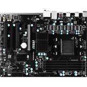 msi Desktop Motherboard, 32GB, DDR3, ATX Form Factor (970A-G43 PLUS)