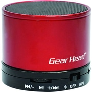 Gear Head BT3500RED Portable Wireless Speaker System, Red