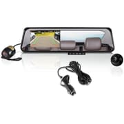 Pyle PLCMDVR42 HD Dual DVR Recording Cameras and Rearview Mirror Monitor System