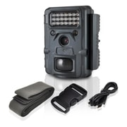 Pyle PHTCM48 Wireless Waterproof Night Vision Wild Game Trail Scouting Camera, Black