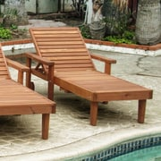 Best Redwood Summer Chaise Lounge; Clear