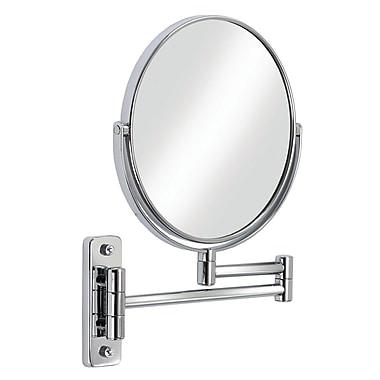 Cosmo – Miroir mural grossissant de 8 po, chrome