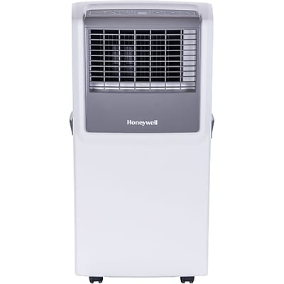 Honeywell 8,000 BTU Portable Air Conditioner with Front Grille and Remote Control - White/Gray (MP08CESWW) 2119817