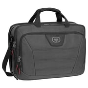 "OGIO® Radial Black Top ZIP Messenger Bag For 15"" Notebook/Laptop/iPad"