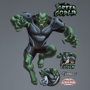 Fathead Marvel Green Goblin - Ultimate Spider-Man Wall Decal