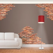 Fathead Horizontal Brick Wall Decal