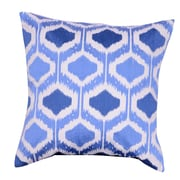 A&B Home Group, Inc Embroidered Throw Pillow; Blue