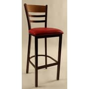 Walsh & Simmons Seating 43.5'' Bar Stool with Cushion