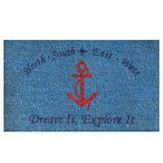 Home & More Anchor Doormat; 2' x 3'
