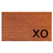 Home & More XO Doormat; Natural