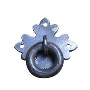 Artesano Iron Works 2'' Center Ring Pull; Matte-Black