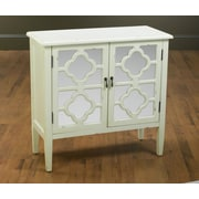 AA Importing 2 Door Mirrored Cabinet