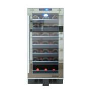 Vinotemp 33 Bottle Single Zone Built-In Wine Refrigerator