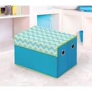 Bintopia Storage Box; Cyan Blue/Green