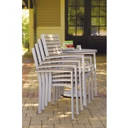 Oxford Garden Travira Dining Arm Chair (Set of 2); Tekwood Vintage