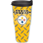 Tervis Tumbler NFL Pittsburgh Steelers Steel Curtain Tumbler with Lid; 24 oz.