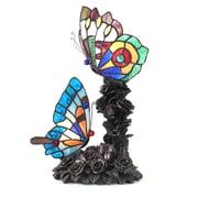 Chloe Lighting Butterfly 2 Light 17'' Table Lamp