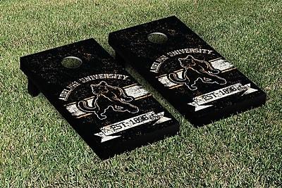 Victory Tailgate NCAA Vintage Version Banner Cornhole Game Set; Wisconsin Green Bay Phoenix WYF078278336767