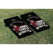 Victory Tailgate NCAA Vintage Version Banner Cornhole Game Set; Ohio Wesleyan OWU Battling Bishops
