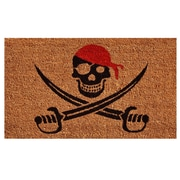 Home & More Pirate Doormat
