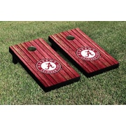 Victory Tailgate NCAA Weathered Version Corona Cornhole Game Set; Alabama Crimson Tide
