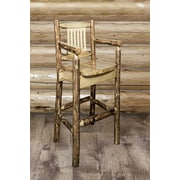 Montana Woodworks  Glacier Country 30'' Bar Stool
