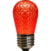 Queens of Christmas 3.2W LED Light Bulb; Red
