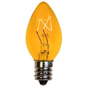 Queens of Christmas 5W Light Bulb; Yellow