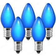 Queens of Christmas 5W Light Bulb (Set of 25); Blue