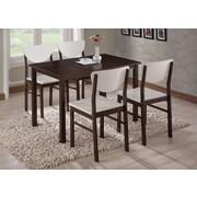 InRoom Designs Dining Table; Walnut