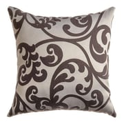 Softline Home Fashions Karaj Throw Pillow; Chocolate