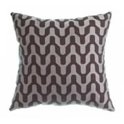 Softline Home Fashions Victor Throw Pillow; Chocolate