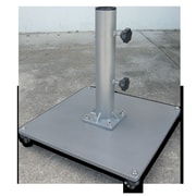 Greencorner Steel Low Profile Umbrella Base