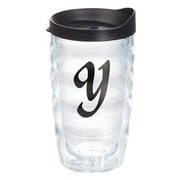 Tervis Tumbler Initials Scroll 10 Oz. Wavy Tumbler with Lid; Y