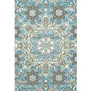 Wildon Home   Tia Aqua Area Rug; 8' x 11'