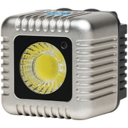 Lume Cube Bluetooth® External Flash and Video Light For Casual Capture Devices, Silver (LUMLC11S)