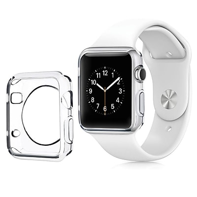 Insten Clear Transparent Ultra Thin Protective TPU Rubber Gel Bumper Case For Apple Watch 38mm