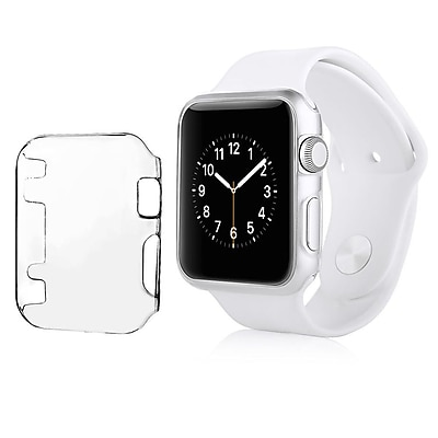 Insten Sport Edition Slim Thin Snap On Hard Clear Protective Case For Apple Watch 38MM