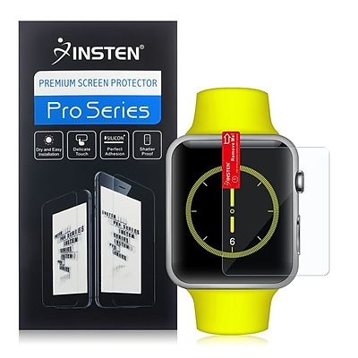 Insten Clear Transparent Screen Protector LCD Guard Shield For Apple Watch 42mm