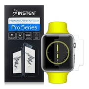 Insten Clear TPU Screen Protector LCD Film Guard Shield For Apple Watch 38mm