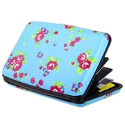 Zodaca Blue Flowers Business ID Credit Cards Wallet Purse Holder Case Box Pocket Aluminum Metal