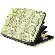 Zodaca Snake Pocket Business ID Credit Cards Wallet Purse Holder Case Box Pocket Aluminum Metal