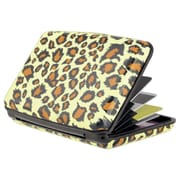 Zodaca Yellow Leopard Business ID Credit Cards Wallet Purse Holder Case Box Pocket Aluminum Metal