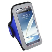 Insten Vertical Pouch Sport Armband for Samsung Galaxy S4 S5 Note 4 iPhone 4 5 6 6+ HTC One M8 LG Nokia, Dark Blue