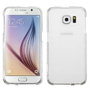 Insten Hard Snap-in Rubber Case Cover for Samsung Galaxy S6, Clear